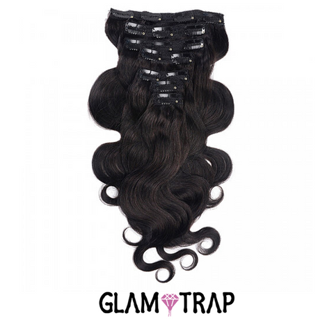 Clip-in Accessory - Natural Brown