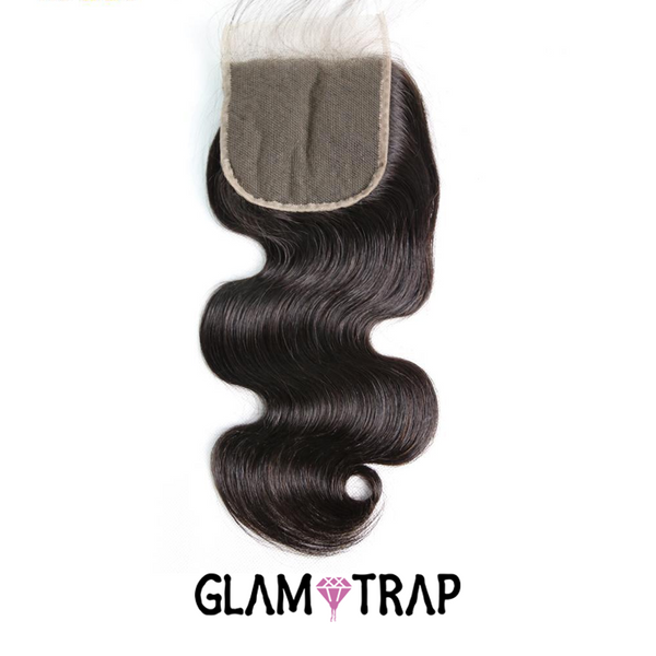 Indian Wavy Lace Closure (4x4)