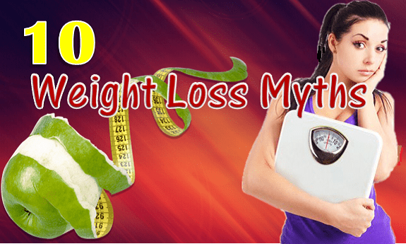 10 myths about weight loss