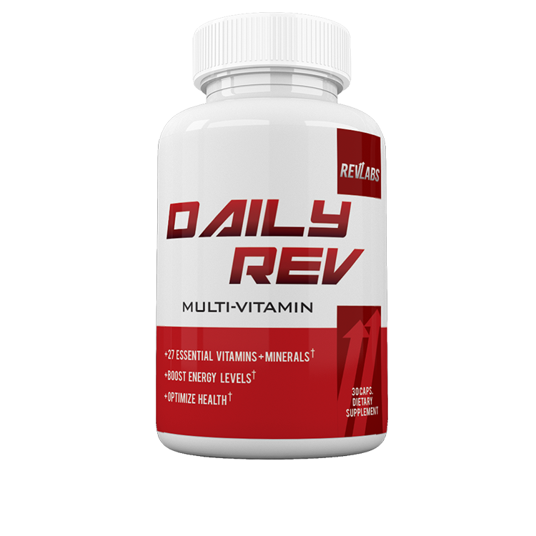 Stop taking your basic Multi-Vitamins, and get your Daily-Rev