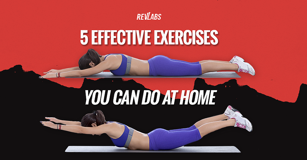 5 Effective Exercises You Can Do At Home