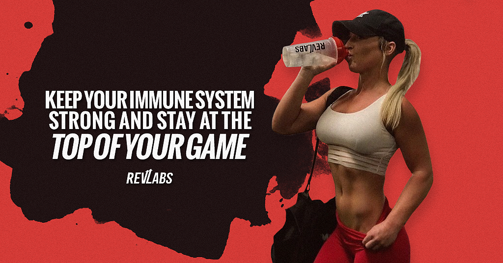 Keep your immune system strong and stay at the Top Of Your Game