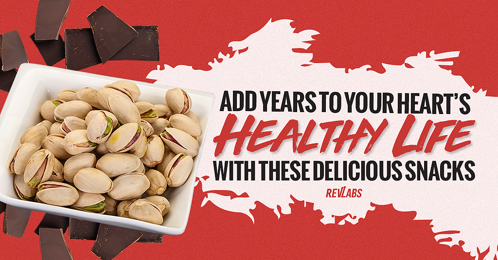 Add Years to Your Heart's Healthy Life With These Delicious Snacks