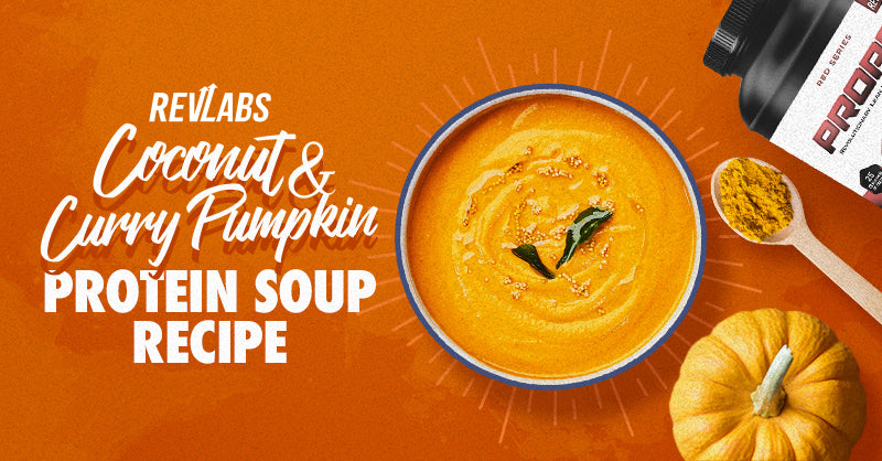 Coconut & Curry Pumpkin Protein Soup