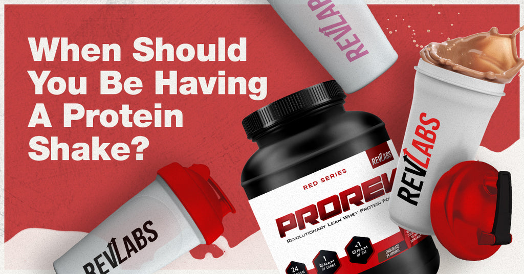 When Should You Be Having A Protein Shake?