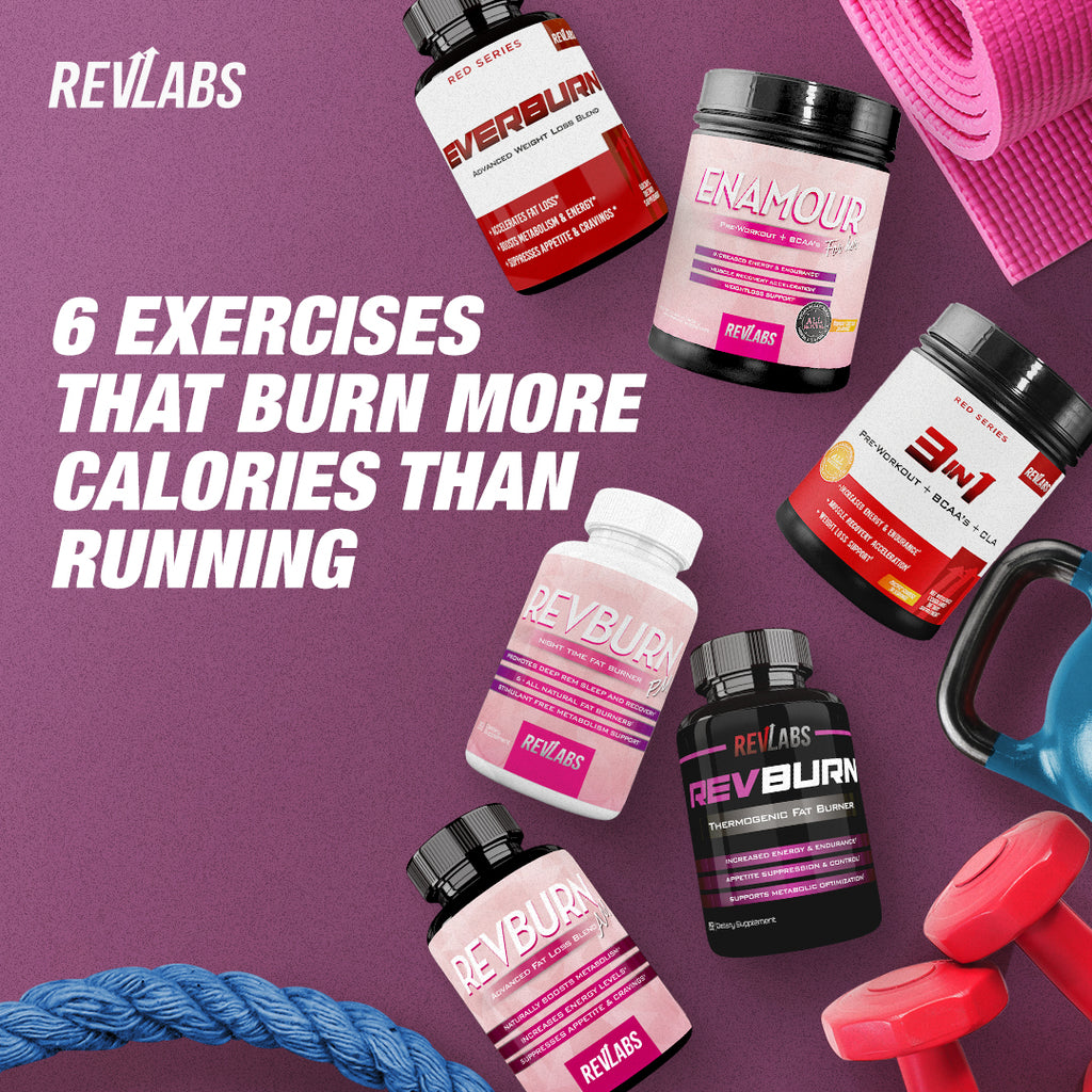 6 Exercises That Burn More Calories Than Running