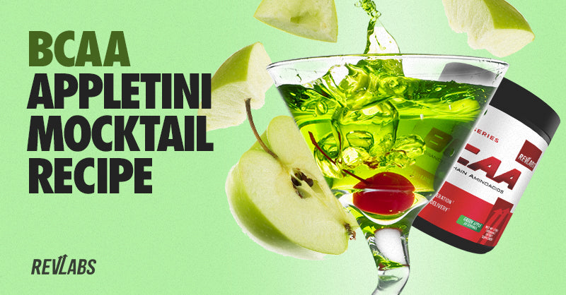 BCAA Appletini mocktail