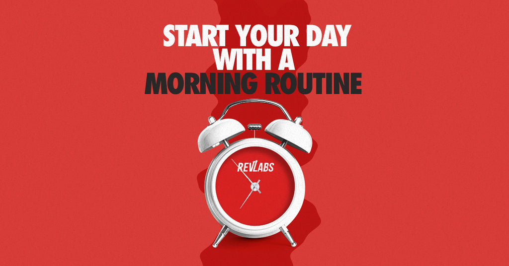 Start Your Day With A Morning Routine!