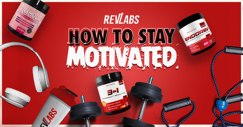 5 Tips to Stay Motivated to Train