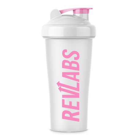 Shaker Cup Pink/white (24Oz)