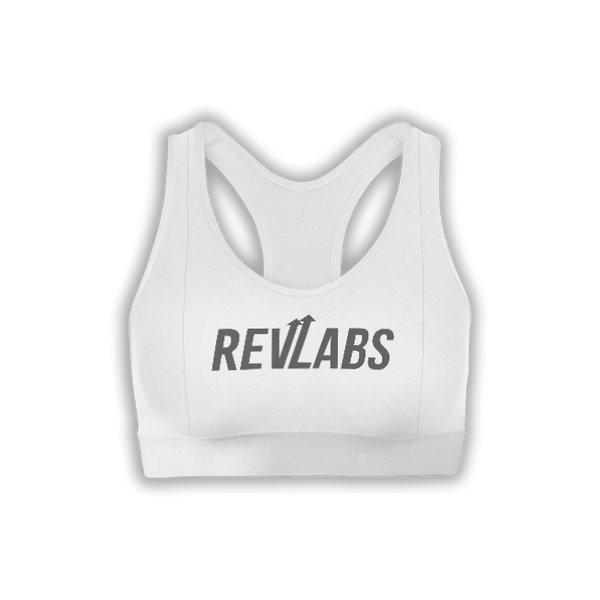 Signature Sports Bra- White
