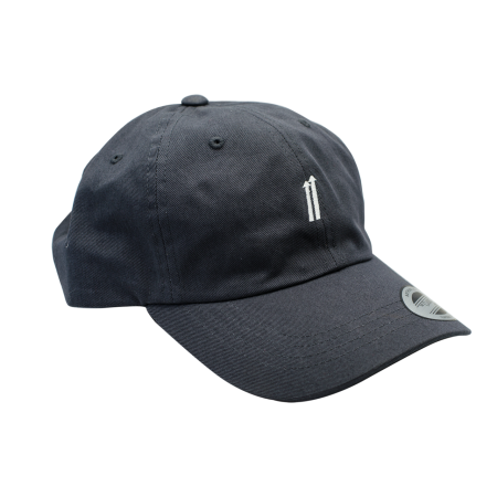 Strapback Baseball Hat - Dark Grey
