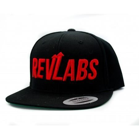 Snapback Black W/ Large Logo