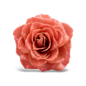 Natural rose brooch hand made in Italy