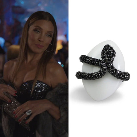 Adjustable Sea Snake Cocktail Ring Dynasty x Bellus Domina