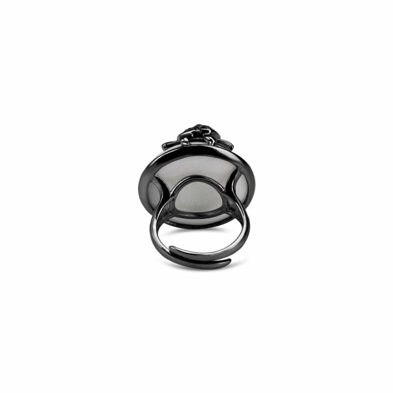 Adjustable Turtle Cocktail Ring