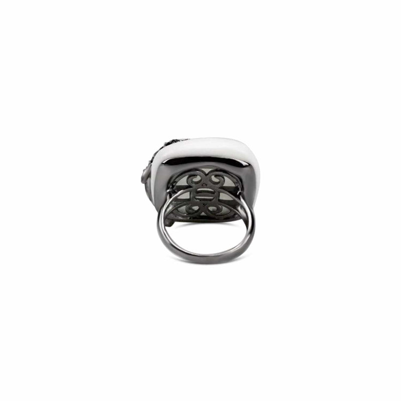 Sterling Silver Dolphin Cocktail Ring
