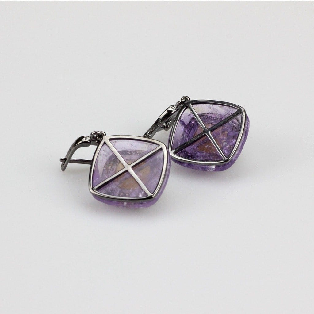 Silver Ametrine Earrings