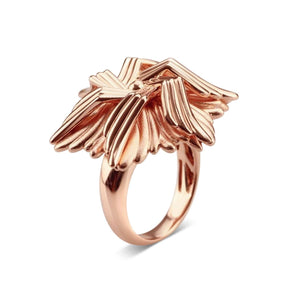 Rose Gold Plated Sea Flower Ring