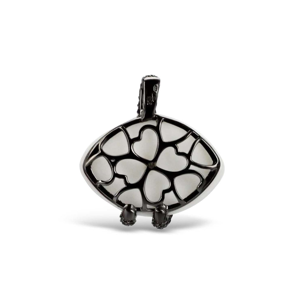 Sterling Silver Sea Snake Pendant
