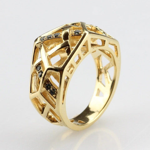 Hexa Cross Ring