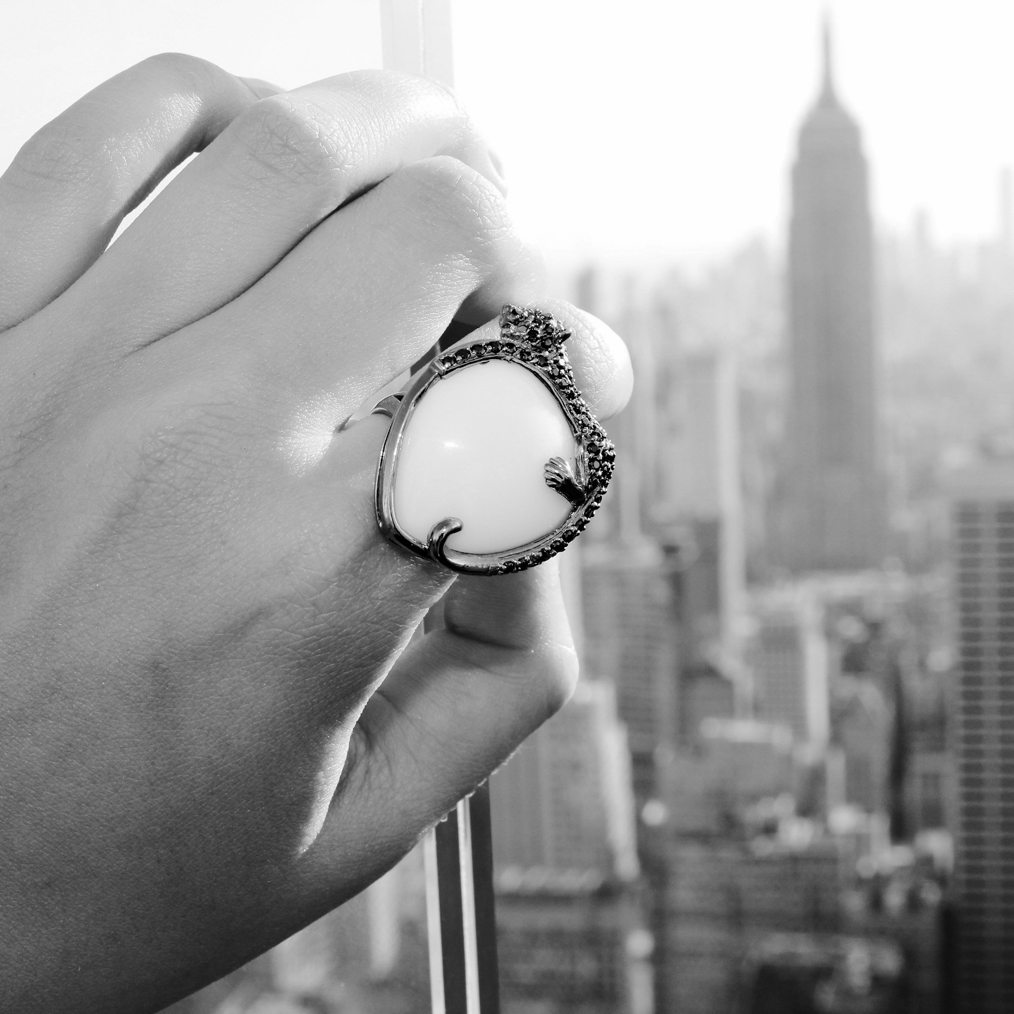New York Style  Cocktail Ring