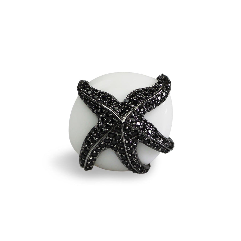 Starfish Cocktail Ring