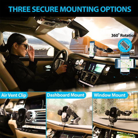 3 automatic mounting options