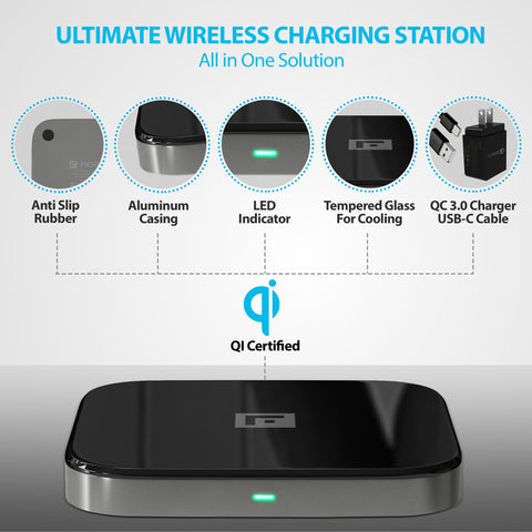 wireless charging features