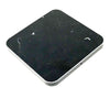 Wireless Charging Square Pad Marble & Metal Trim with Fast Charge Qi Technology