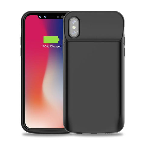 iPhone XS Battery Case by Fiora Slim Apple iPhone XS Charging Case