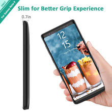 Load image into Gallery viewer, Note 9 Battery Case by Fiora™ Slim Samsung Galaxy Note 9 Charging Case