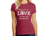 Ladies T-shirt - You Can't Buy Love