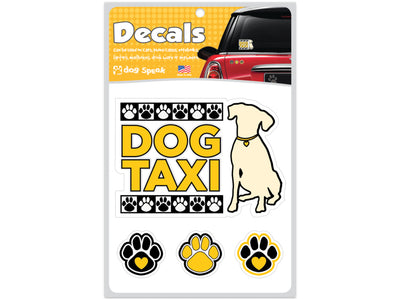 Dog Taxi Decal Sheet