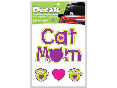 Cat Mom Decal Sheet