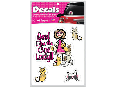 Cat Lady Decal Sheet