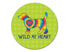 Absorbent Stone Auto Coaster - Wild at Heart