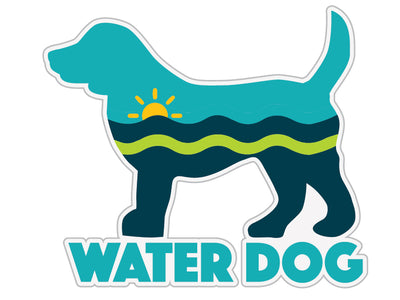 "Water Dog 3"" Decal"
