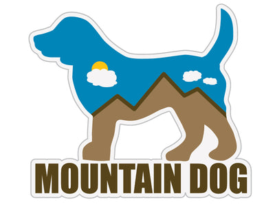 "Mountain Dog 3"" Decal"