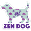 "Zen Dog 3"" Decal"