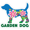 "Garden Dog 3"" Decal"