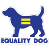"Equality Dog 3"" Decal"