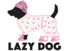 "Lazy Dog 3"" Decal"
