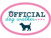 "Official Dog Walker 3"" Decal"