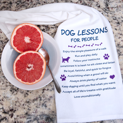 Kitchen Towel – Dog Lessons