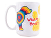 15OZ BIG MUG - Wild At Heart