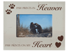Horizontal Frame - Paw Prints in Heaven