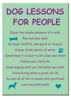 Standard Magnet | Dog Lessons For People