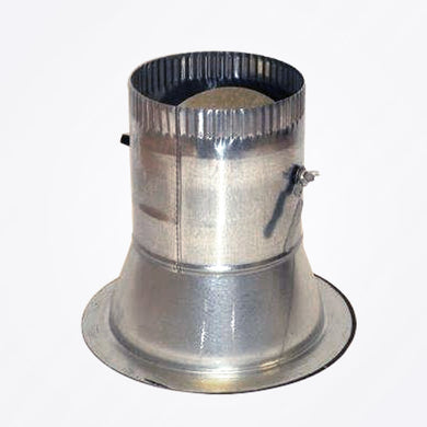 Round Conical Take-off with Adhesive with Damper