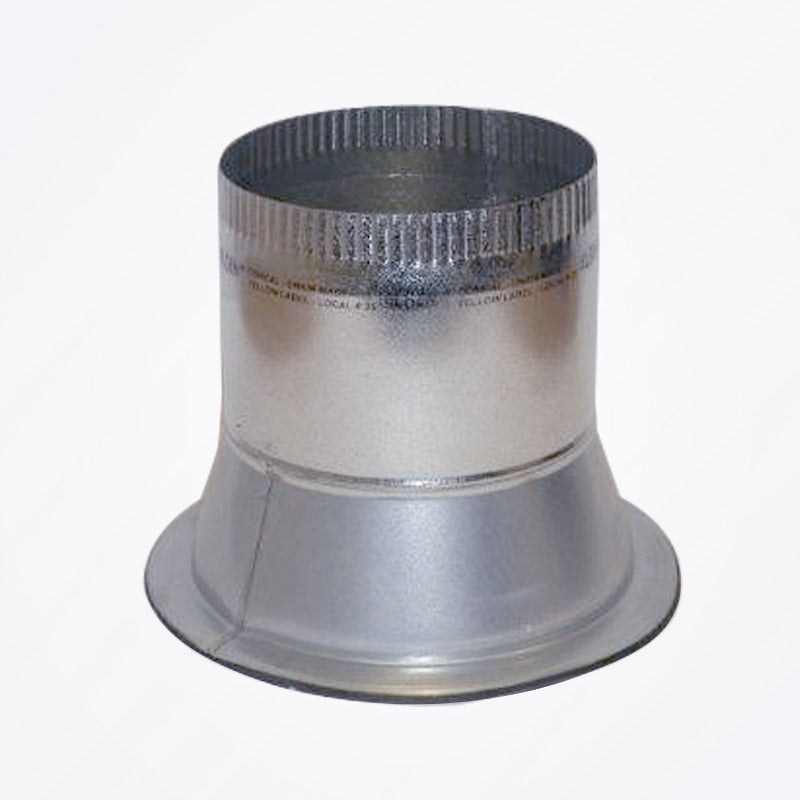 Round Conical Take-off with Adhesive